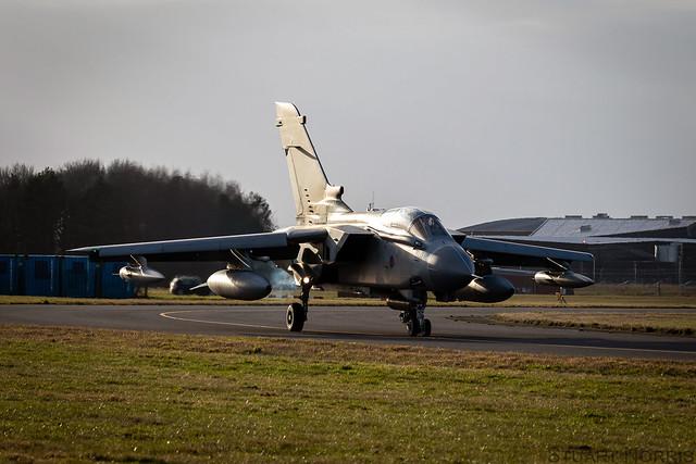 Tornado GR4 ZA542 - RAF Marham