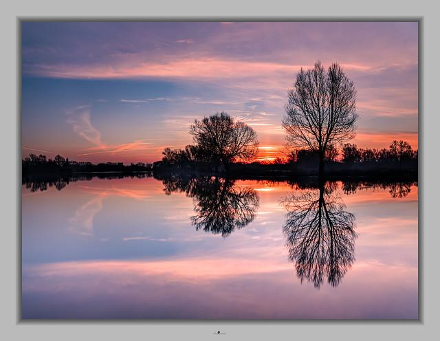 Sunrise in Meinerswijk