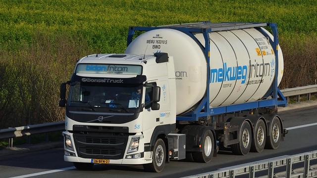 NL - bidon/fritom >58 melkweg:fritom< Volvo FM 420 GL04