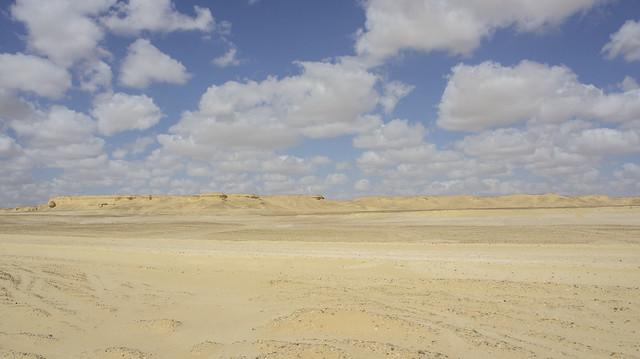 Egypt's Wadi El Rayan's desert area