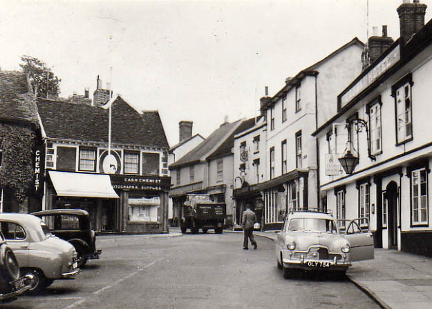 Then And Now: Market Hill late 1950s