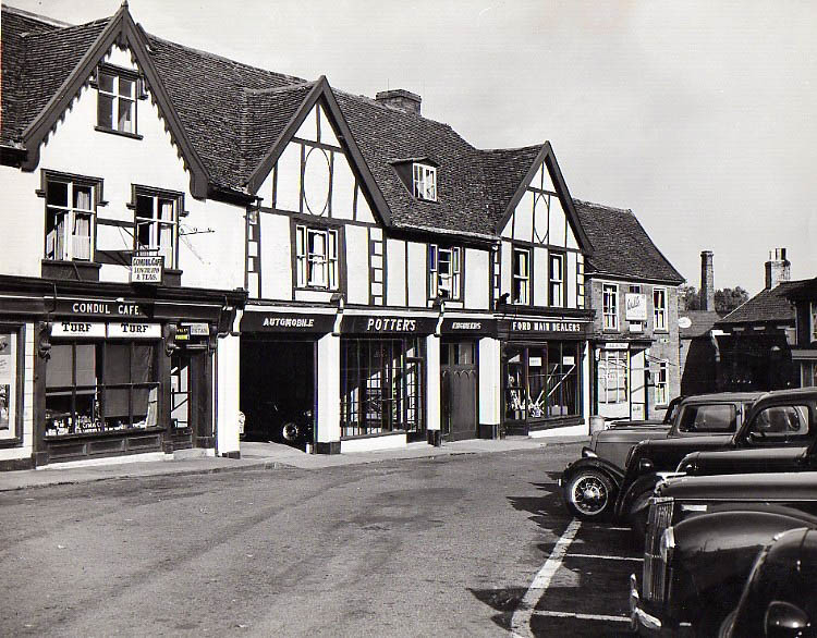 Then And Now: Market Hill c 1938
