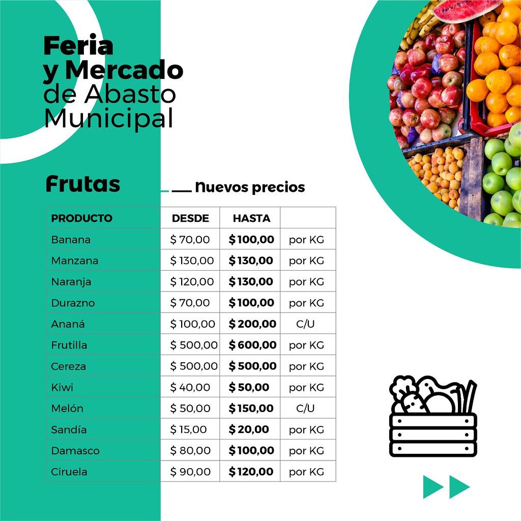 frutas febrero