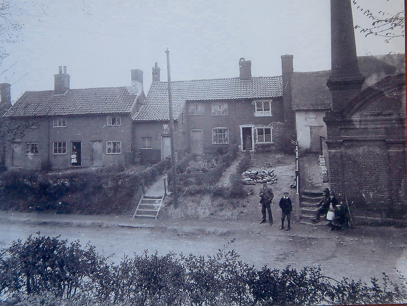Then And Now: College Road and gas works