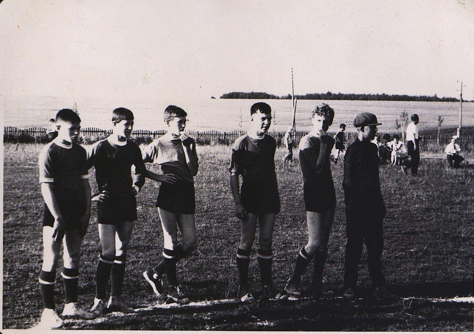 16. Футбольная команда