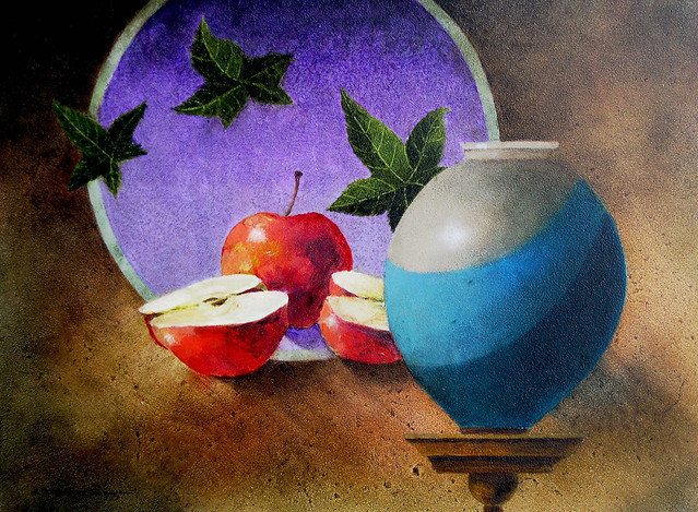pottery apples