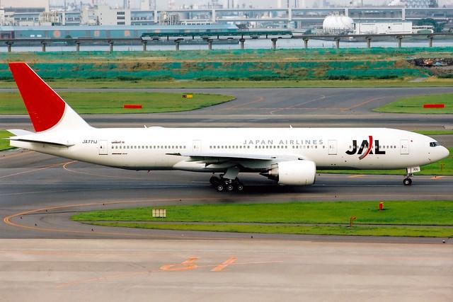 Japan Airlines | Boeing 777-200 | JA771J | Tokyo Haneda