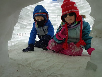 chillin in the igloo