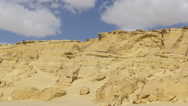 The desert area in #Egypt's Wadi El-Rayan in Fayoum