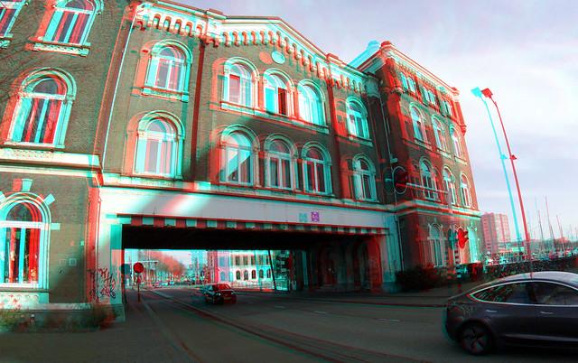 Poortgebouw 2021 Rotterdam 3D GoPro
