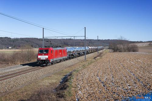 186 337 db cargo belgium e41584 ligne 24 warsage 13 fevrier 2021 laurent joseph www wallorail be