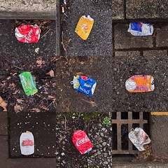 Squashed drinks cans on yesterday's Lockdown Walk. I feel a new project coming on! #lockdownwalk #lockdownproject #squashedcansofinstagram #squashedcans #eyeshootflickr