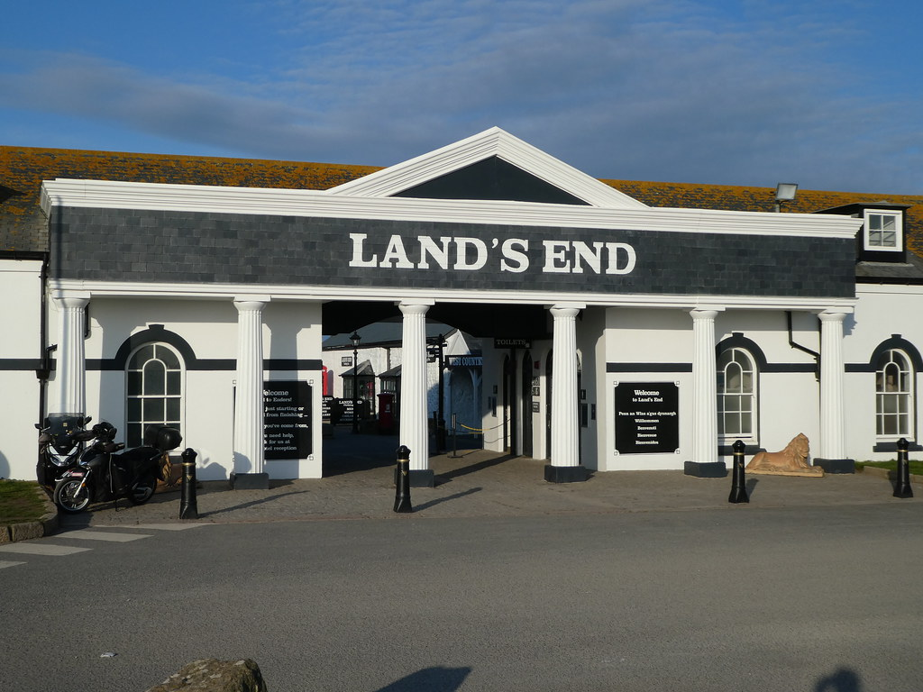The entrance to Land's End, Cornwall