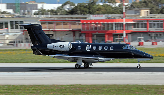T7-MSP LMML 20-02-2021 Private Embraer 505 Phenom 300 CN 50500300