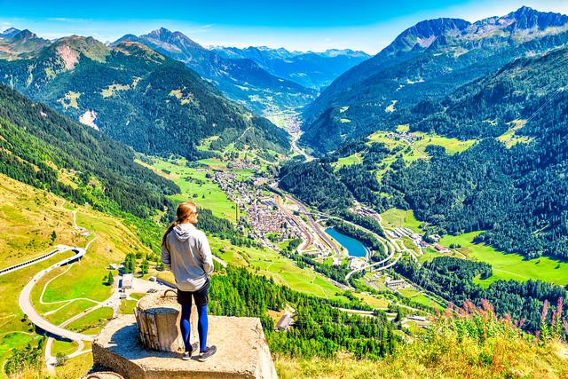 Gotthard-Pass / Schweiz 2018 - New Edits