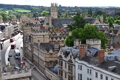 High street, Oxford, Oxfordshire, Angleterre, Royaume-Uni.