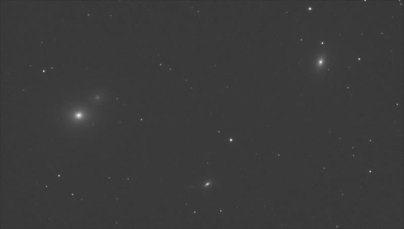 M60, NGC4647, M59, NGC4638 (2021/2/20 00:08) (IR Pass 850nm) (no stretch)