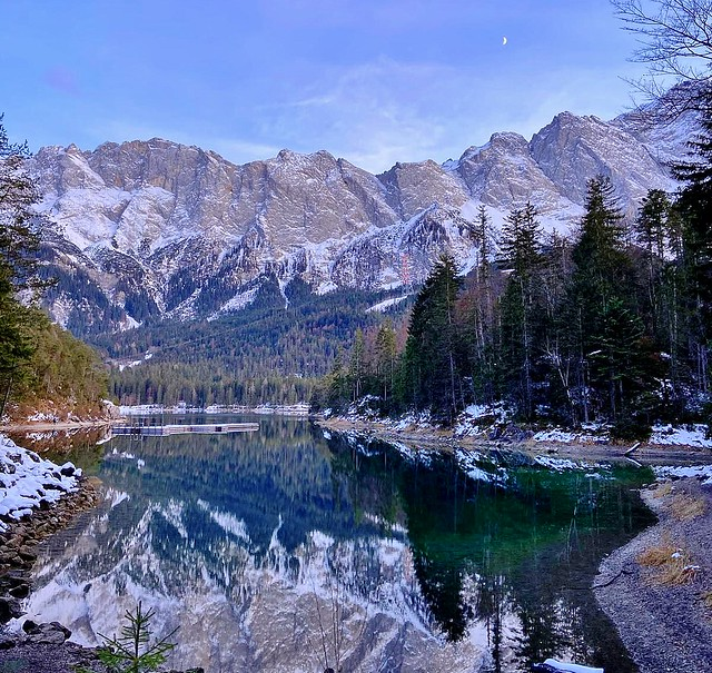 Germany , Eibsee Reflection , 13410