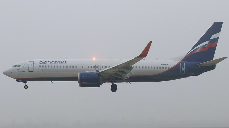 VQ-BHX Aeroflot - Russian Airlines Boeing 737-8LJ(WL) © P. Marianic