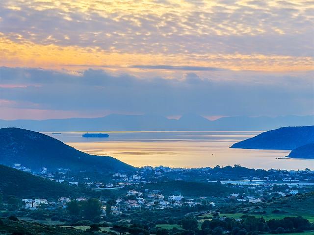 Attica - sea sky land