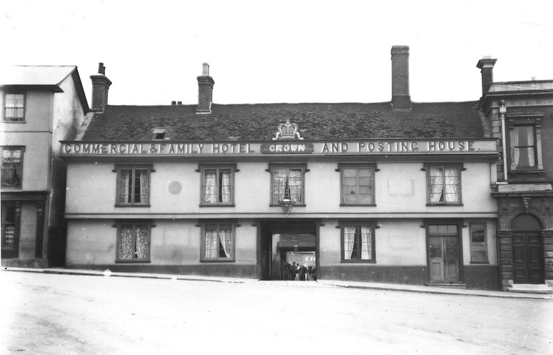 Then And Now: Crown Hotel c 1906