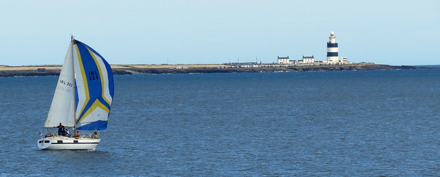 2014 07 24 Hook Head and yacht (1)