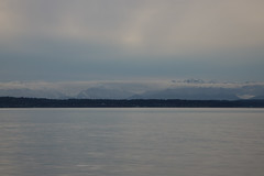 Olympic peninsula from Golden Gardens Park