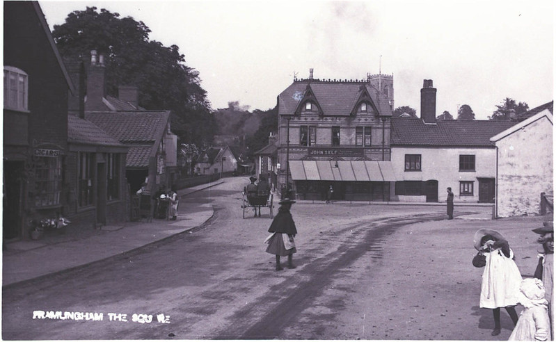 Then And Now: Well Close Square, early 1900s