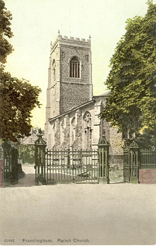 Then And Now: St Michael's Church, date unknown