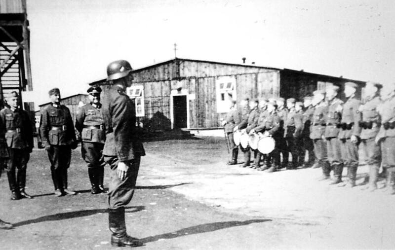 Appell im Kriegsgefangenenlager Oflag 6b