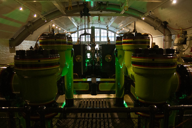 Tower Bridge 125 - Engine room