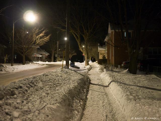 Argyle St., night
