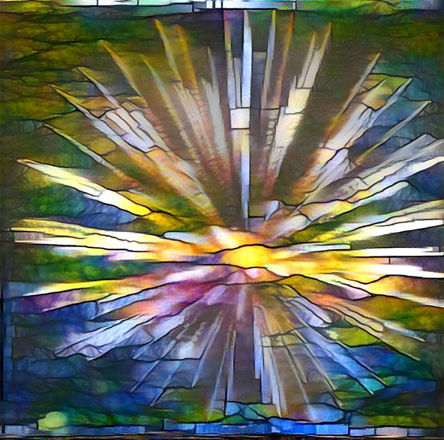 Stained Glass Fireworks