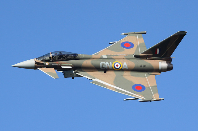 ZK349 - Eurofighter Typhoon FGR.4