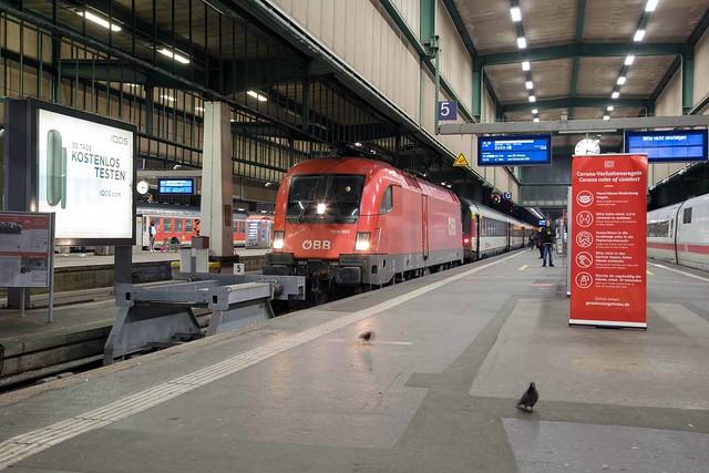 ÖBB 1116 056 Stuttgart Hbf