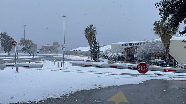Piraeus Snow 16.2.2021