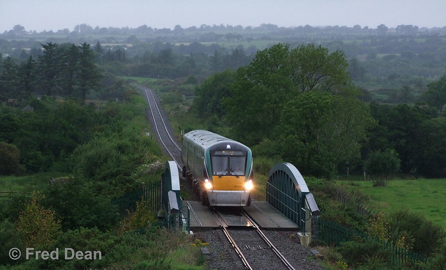 Irish Rail ICR Set 14 at Ballymacthomas.