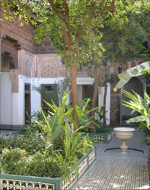 Le musée Dar si Saïd (Marrakech, Maroc)