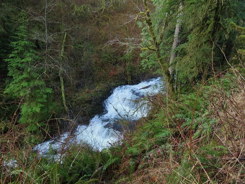 Waterfalls on Fall Creek