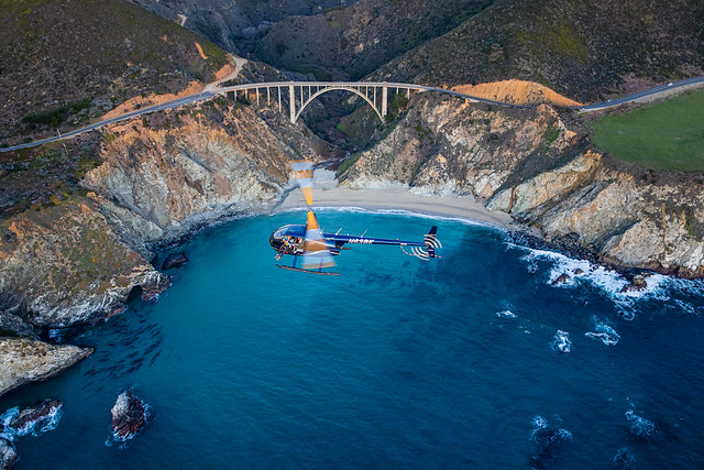 Big Sur California - Doors-Off Photography Experience - Fly Specialized Helicopters