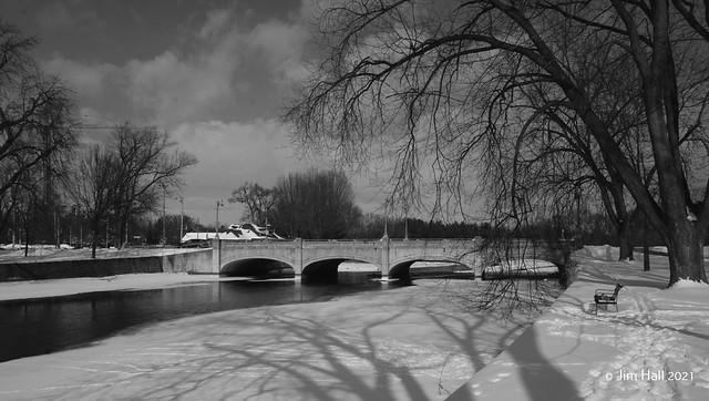 Bridge over the Speed River