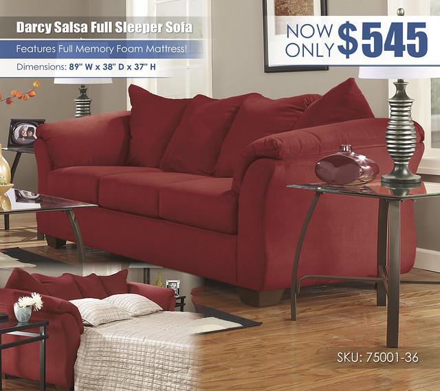 Darcy Salsa Full Sleeper Sofa_75001-36-EVR-SD