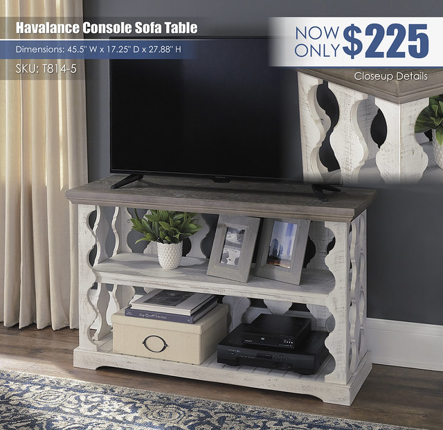 Havalance TV Console Sofa Table_T814-5_ALT