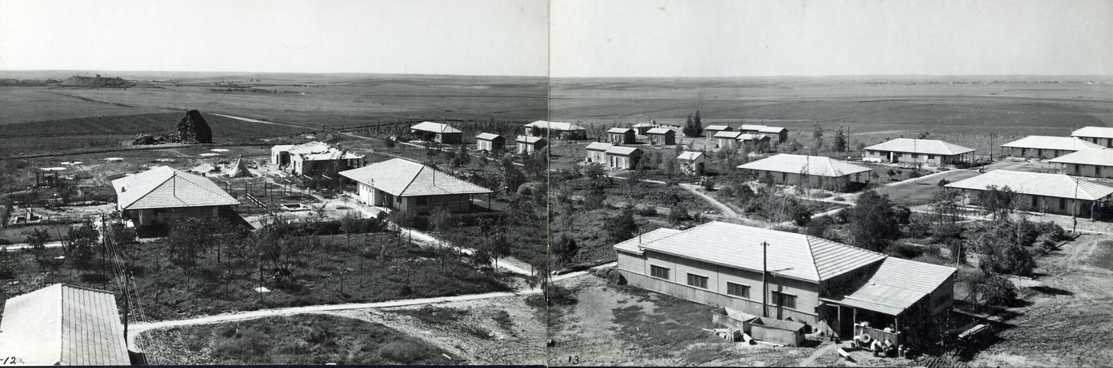 17. 1940. Кибуц Гат, основанный еврейскими иммигрантами из Польши, Югославии и Австрии