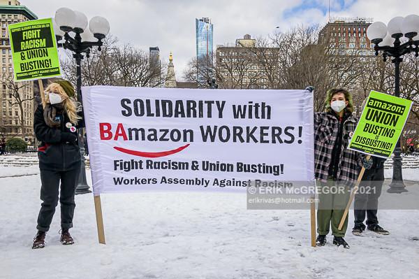 NYC Solidarity With Alabama Amazon Workers Union