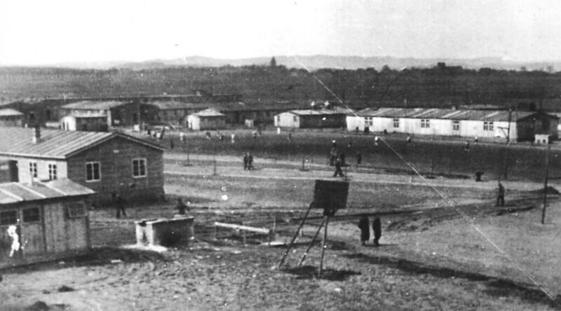 Blick auf das Kriegsgefangenenlager Oflag 6b in Dössel