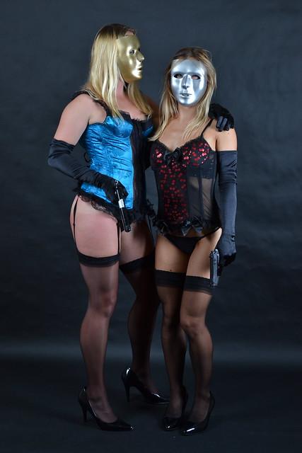Kate and Elisa Lingerie Shoots