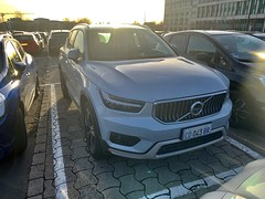 (I) CD043BR (BR: Luxembourg) front, Euro-Spec Volvo XC40
