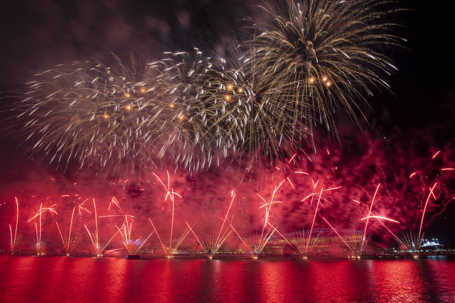 National Day Parade 2019 Preview Fireworks