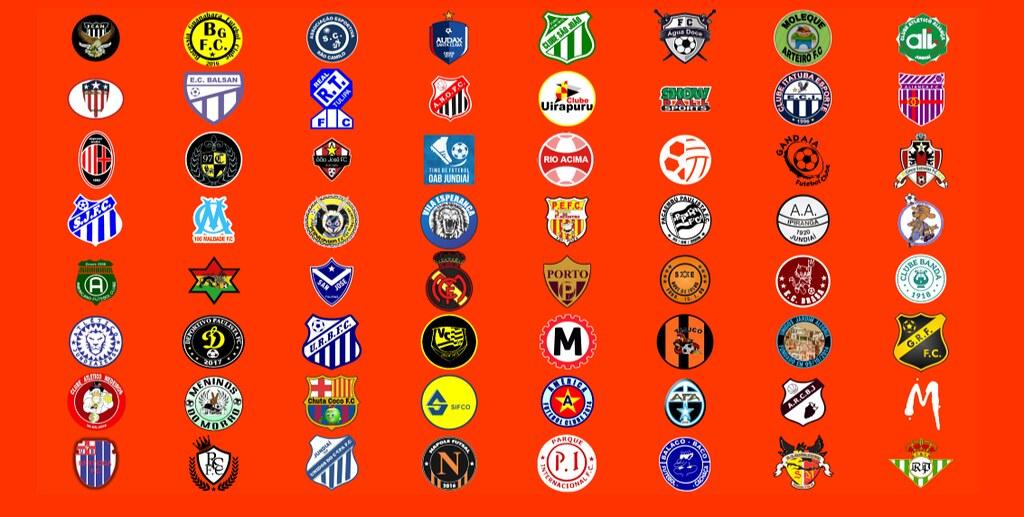 Escudos de clubes e entidades